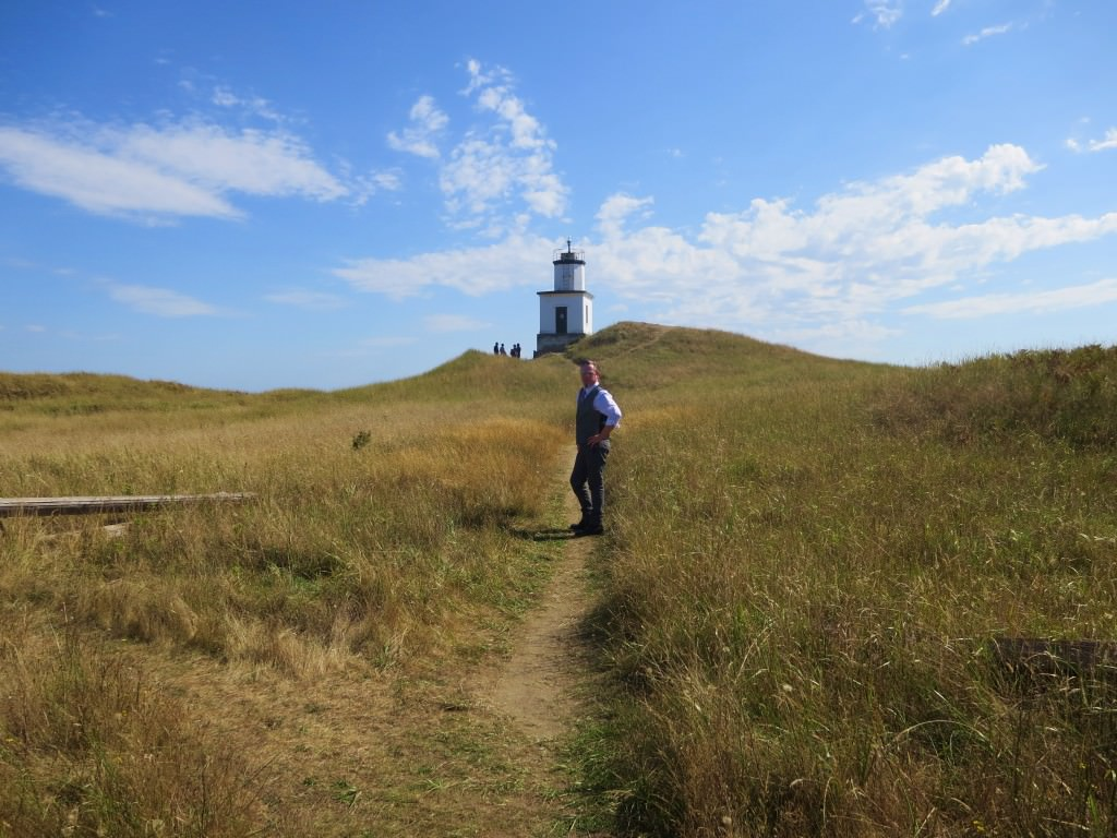 Cattle Point Light House San Juan Island