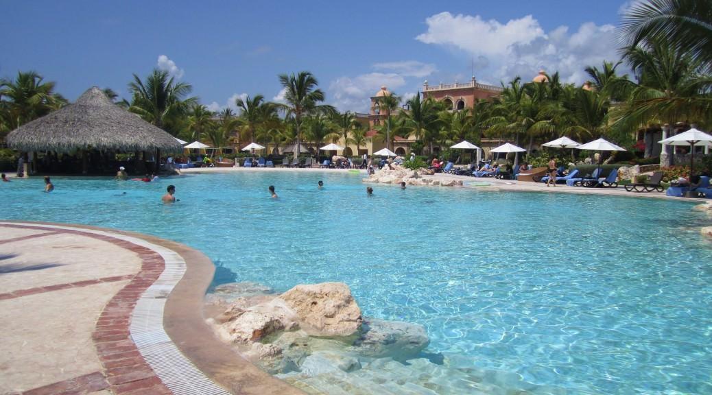 Sanctuary Cap Cana Resort pool Dominican Republic