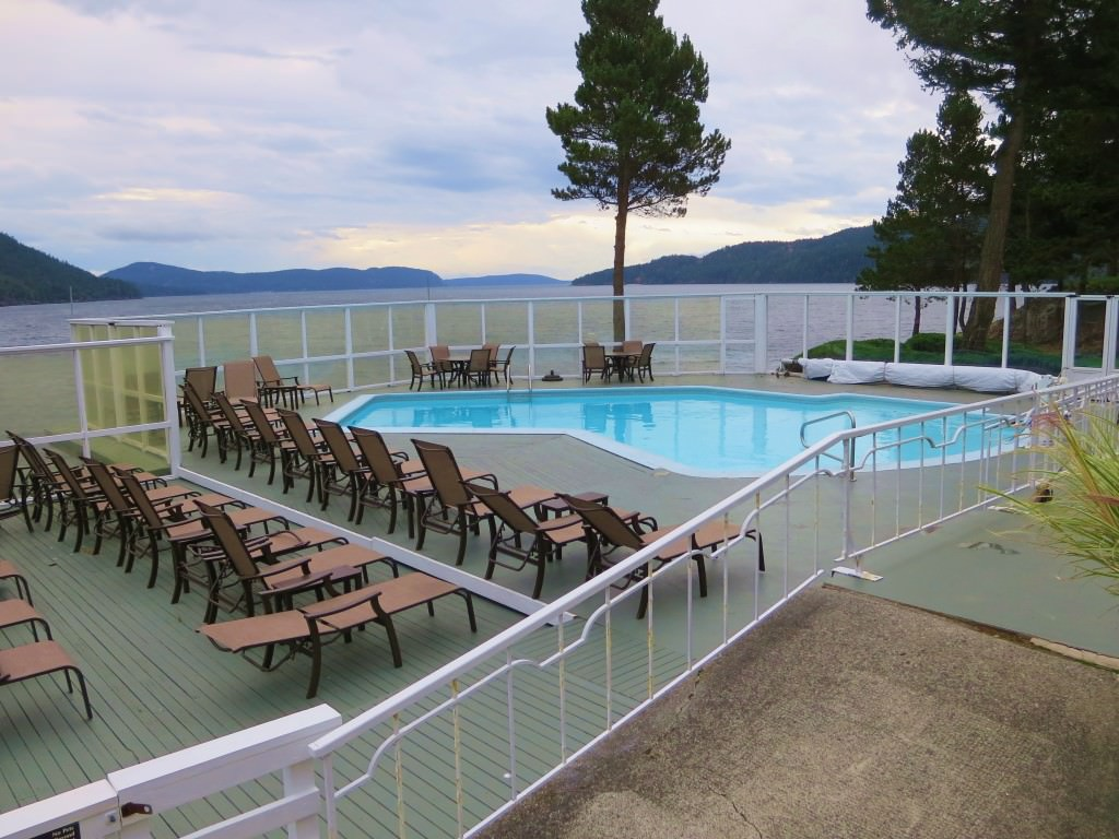 Rosario Resort adult pool Orcas Island