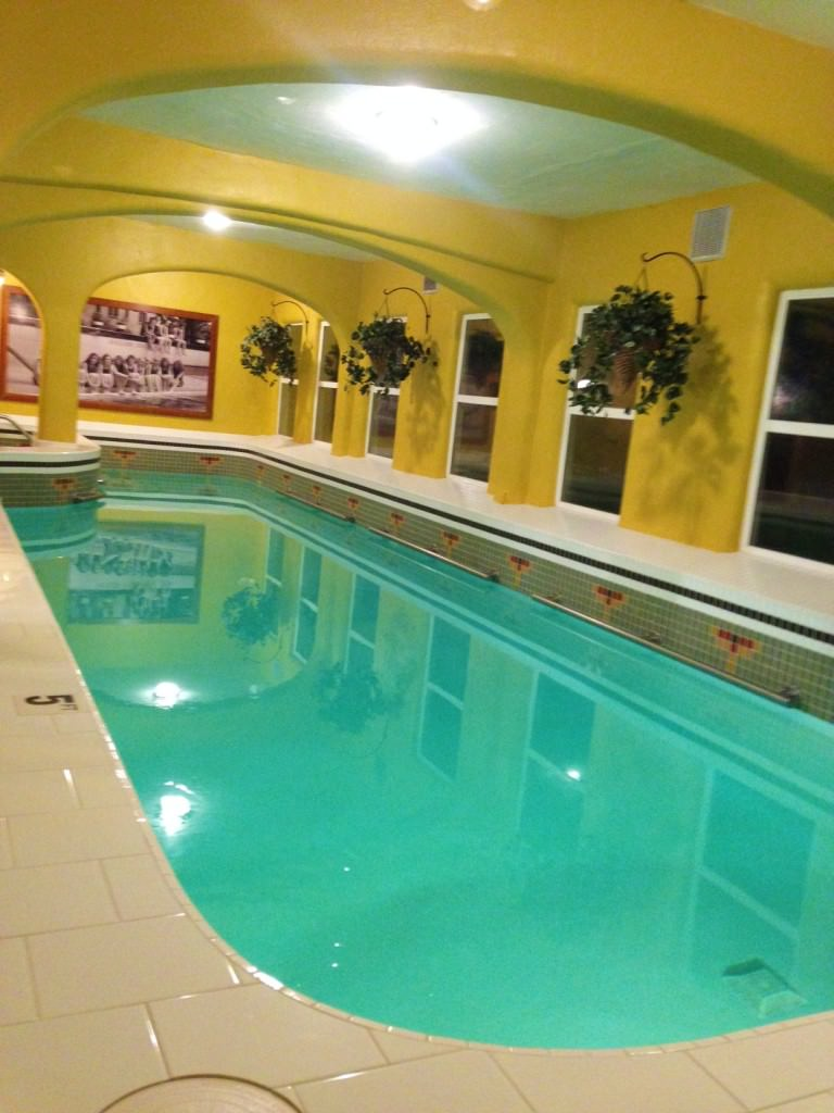 Rosario Resort indoor pool at the spa