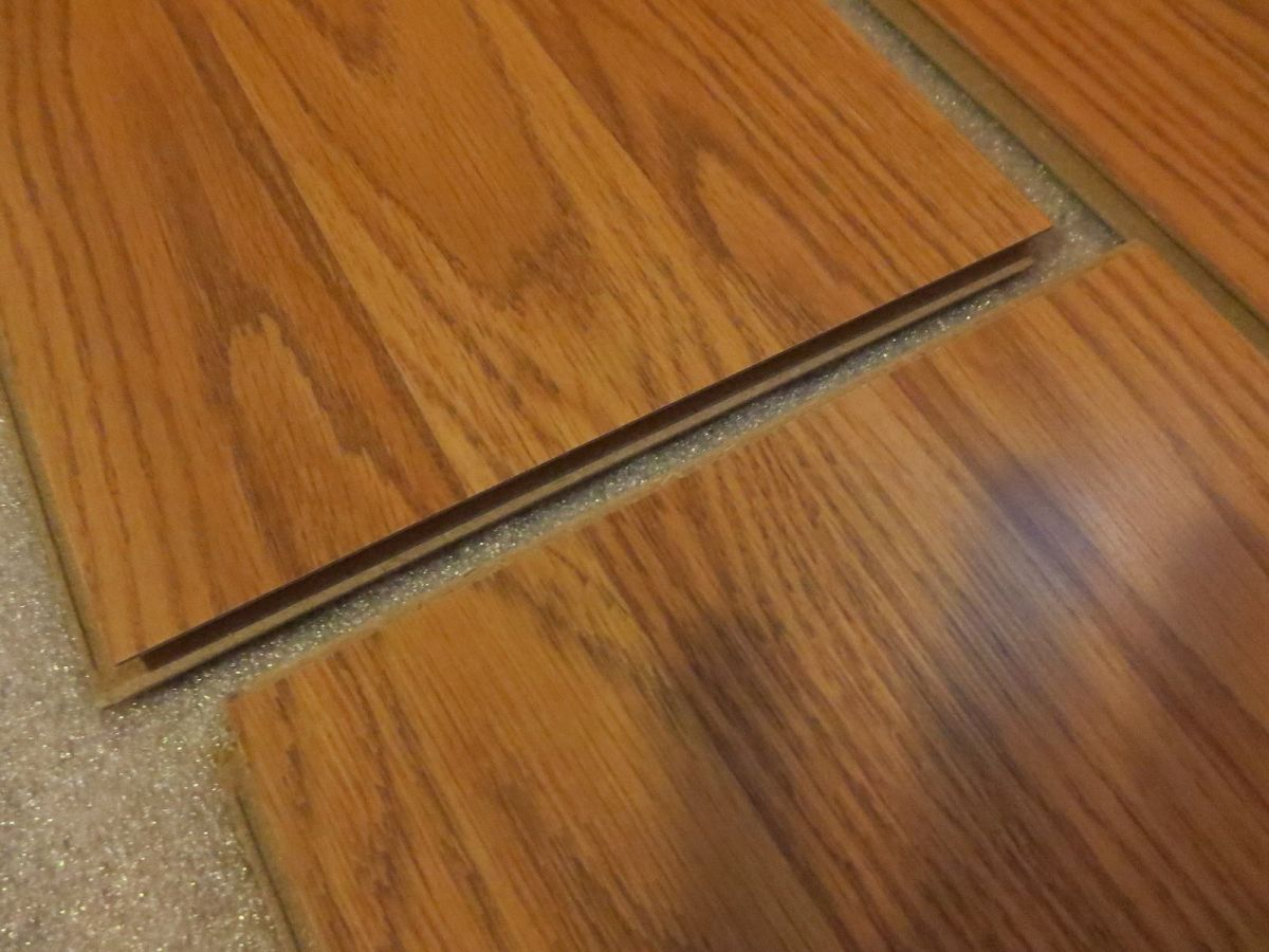 Adventures In Home Improvement Installing Laminate