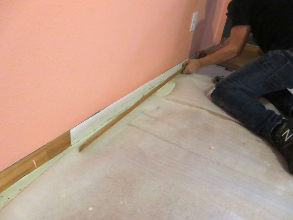 installing laminate flooring removing siding