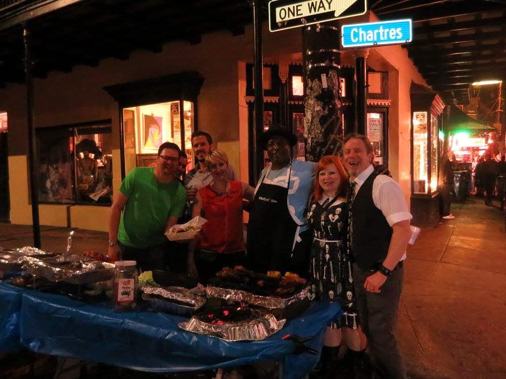 BBQ Frenchmen Street New Orleans