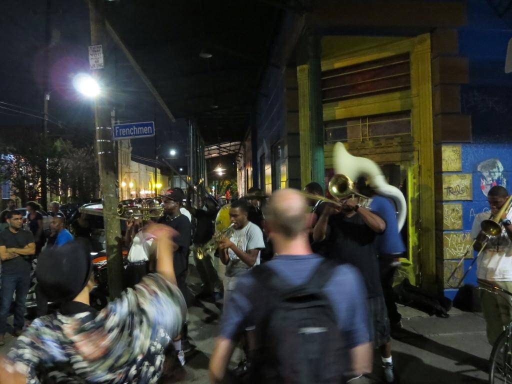 Frenchemen Street Halloween in New Orleans