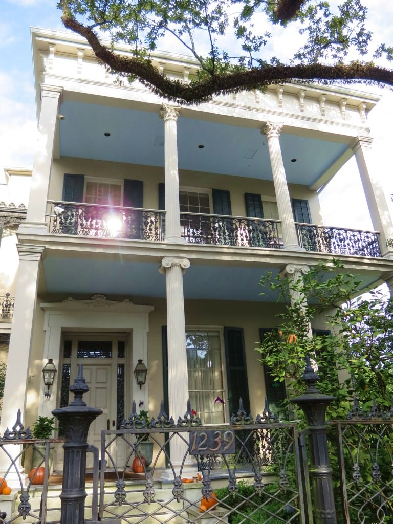 Anne Rice's house in the Garden District