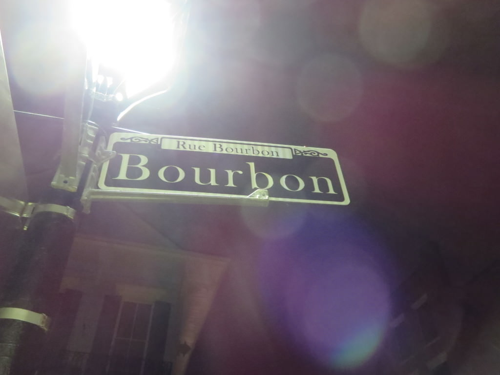 Bourbon Street Halloween in New Orleans