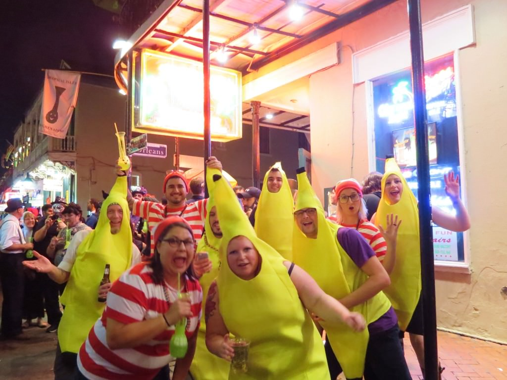 Waldos and Bananas Halloween in New Orleans