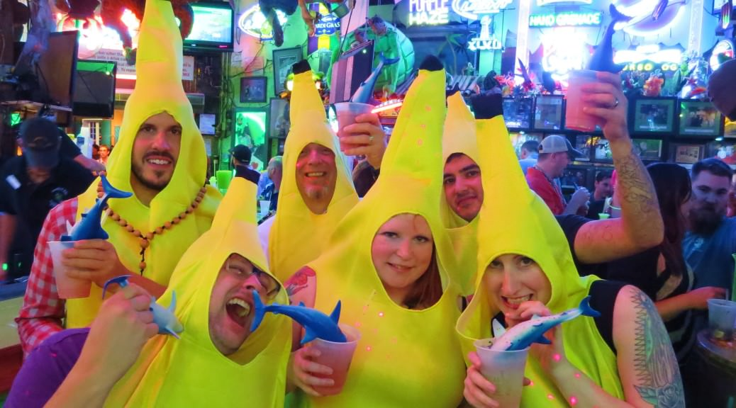Shark attacks Tropical Isle Halloween in New Orleans