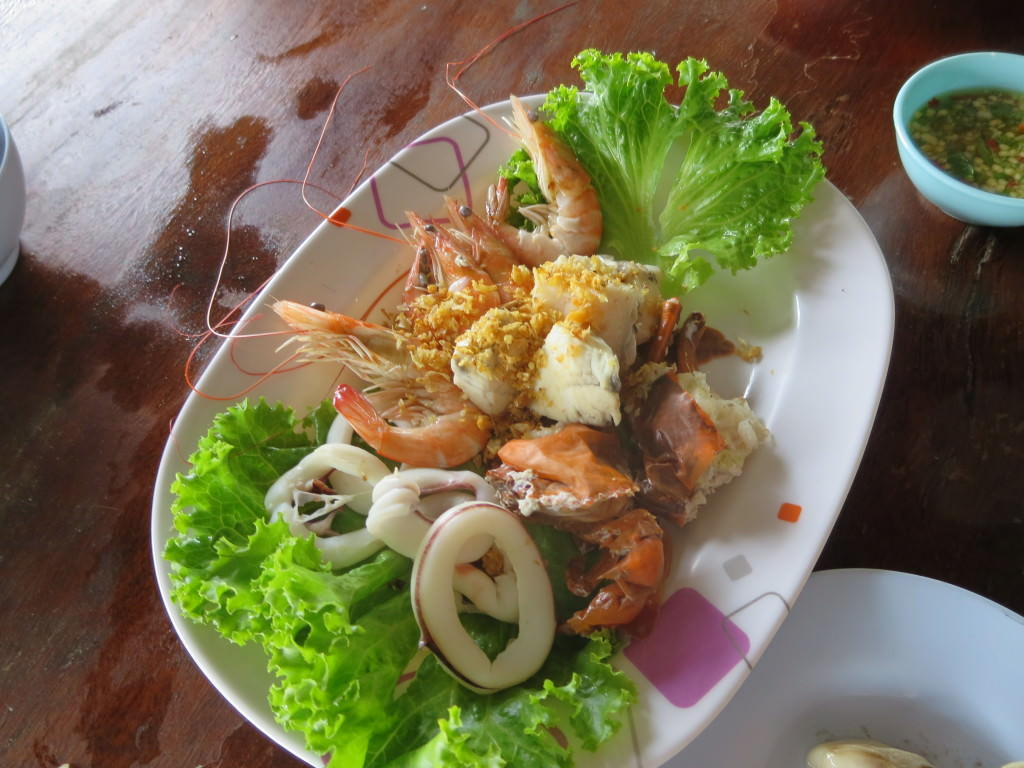 Soft Shell Crab Farm restaurant in Chanthaburi, Thailand