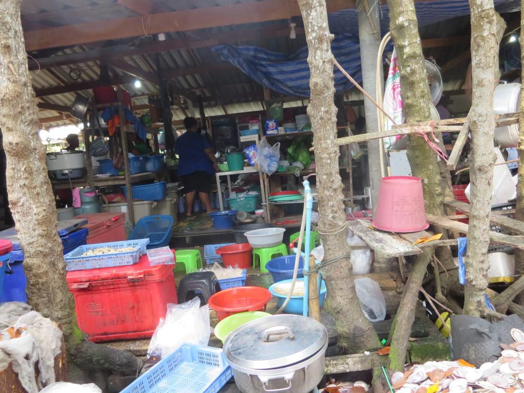 Soft Shell Crab Farm restaurant in Chanthaburi, Thailand