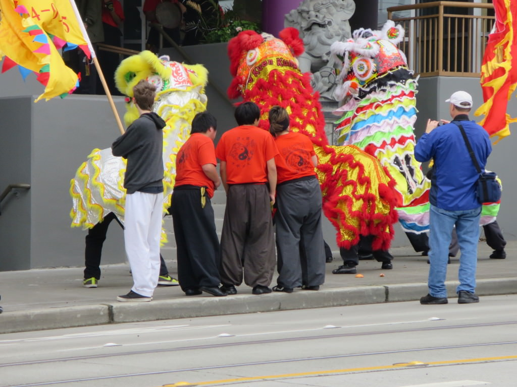 lion dances seattle lunar new year