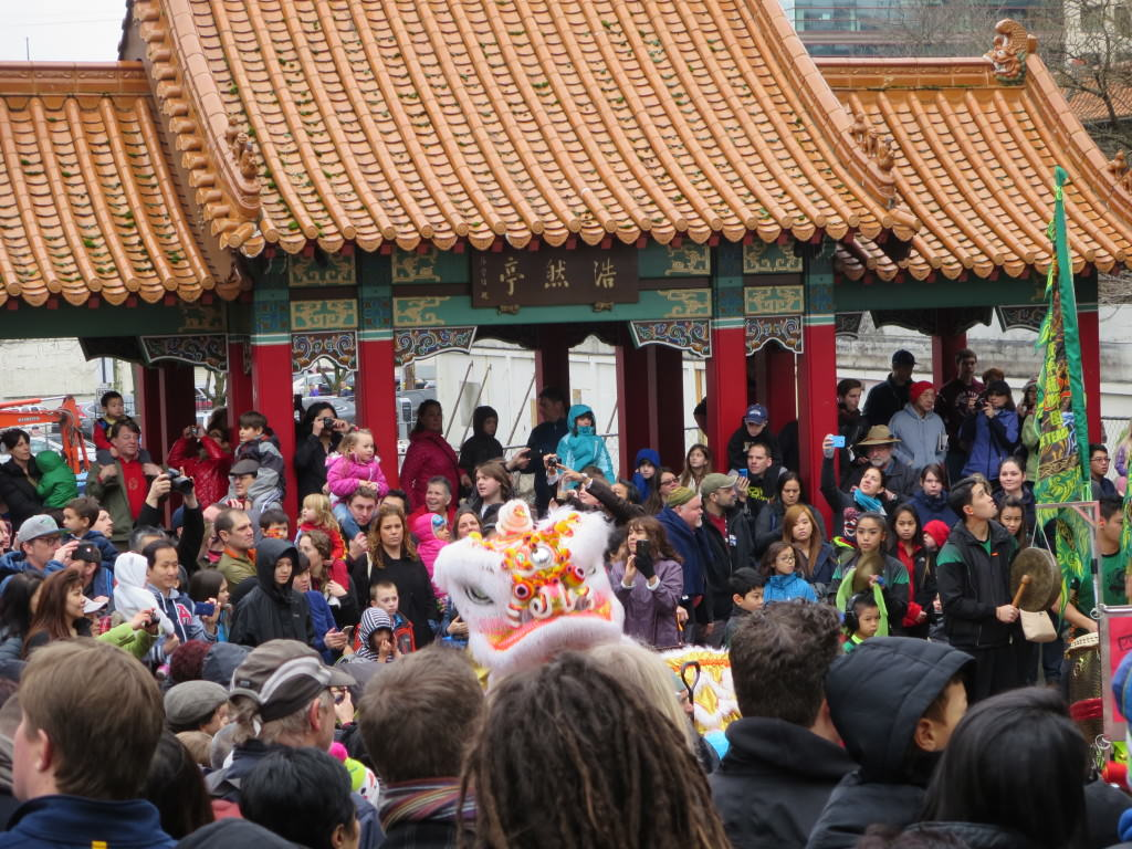 Hing Hay Park Seattle Lunar New Year celebration