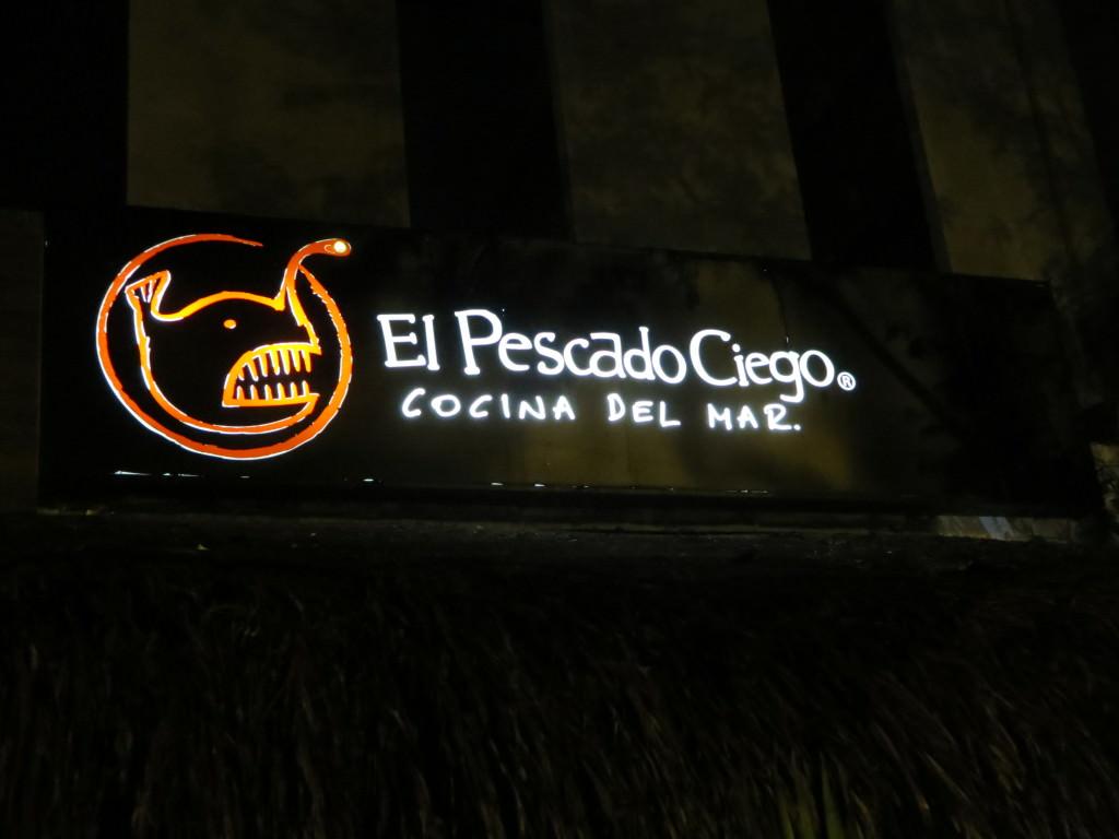El Pescado Ciego restaurant Cancun
