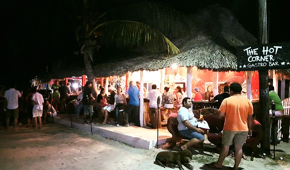 The Hot Corner Bar, Isla Holbox. Image from https://www.facebook.com/The-Hot-Corner-772690436196916/
