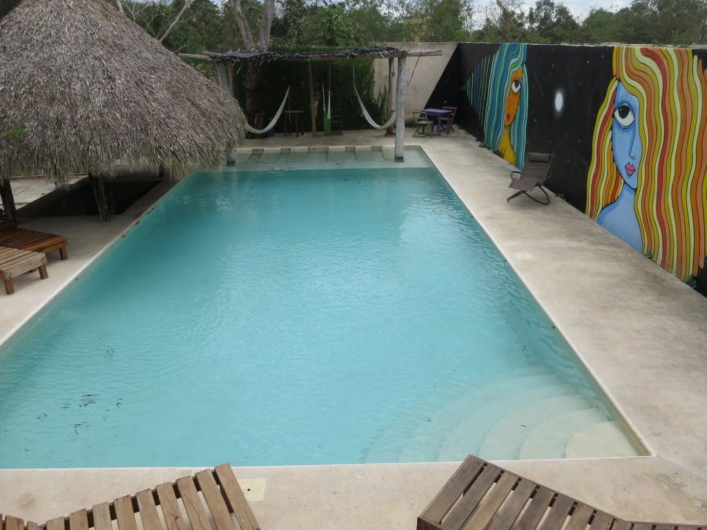 Hotel Zentik Project outdoor pool, Valladolid