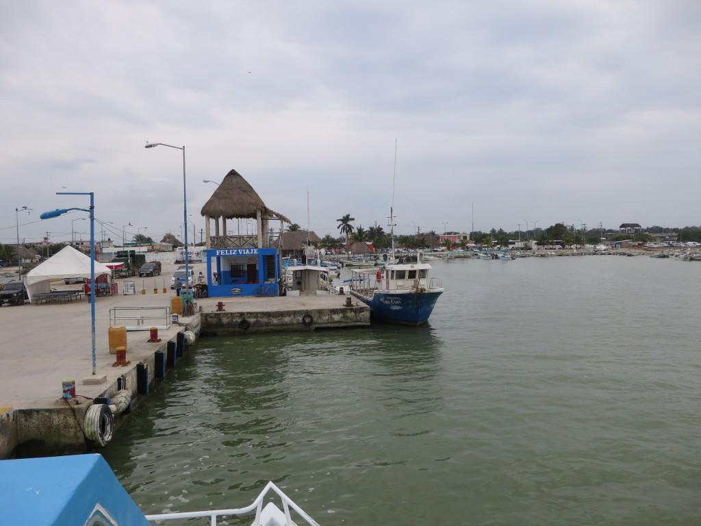 isla holbox ferry mexico