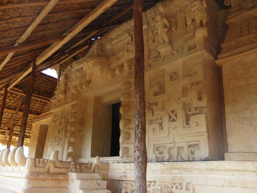 Ek Balam Mayan ruins--main pyramid