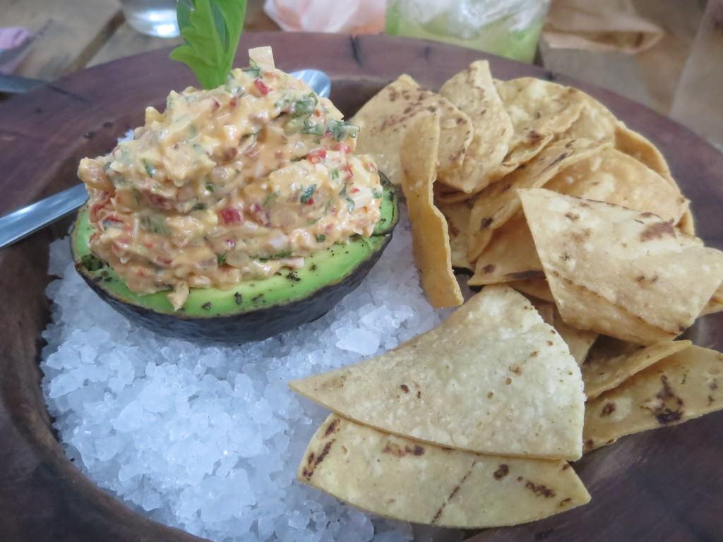 Deviled avocado, Kitchen Table Tulum