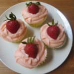Culinary Adventures: Strawberry Margarita Cupcakes