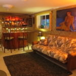 Building a Basement Tiki Lounge