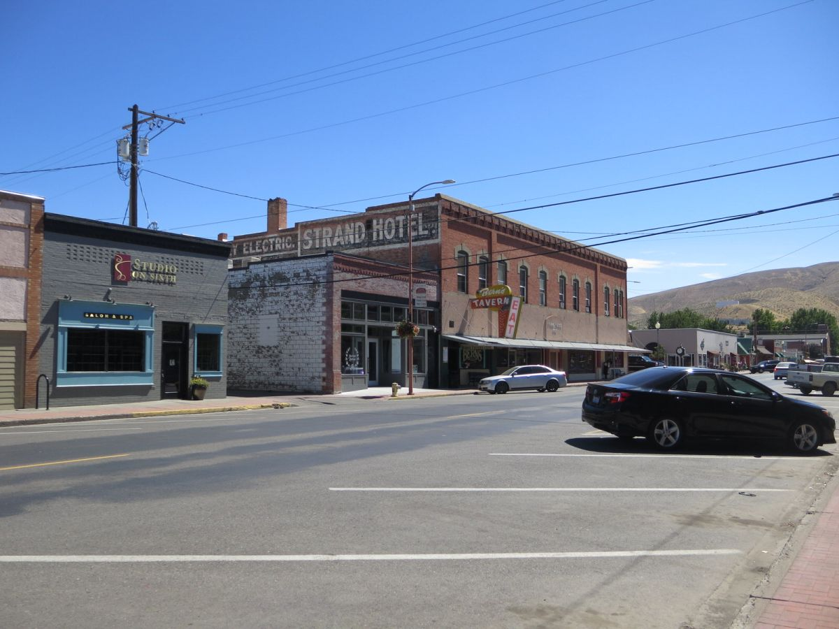 Historic downtown Prosser, WA