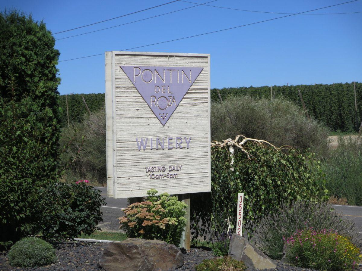 Pontin Del Roza Winery, Prosser, WA