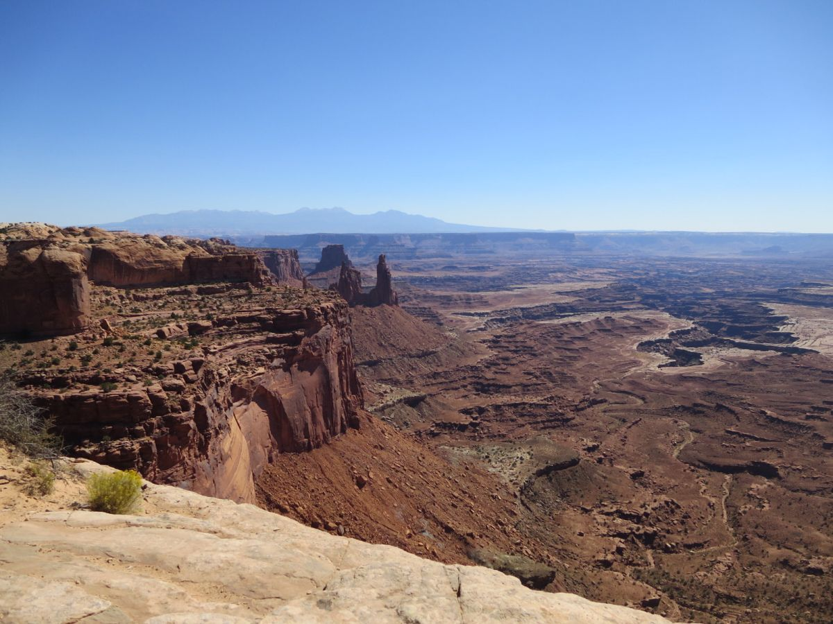 Mesa Arch hike, Canyonlands National Park, Utah