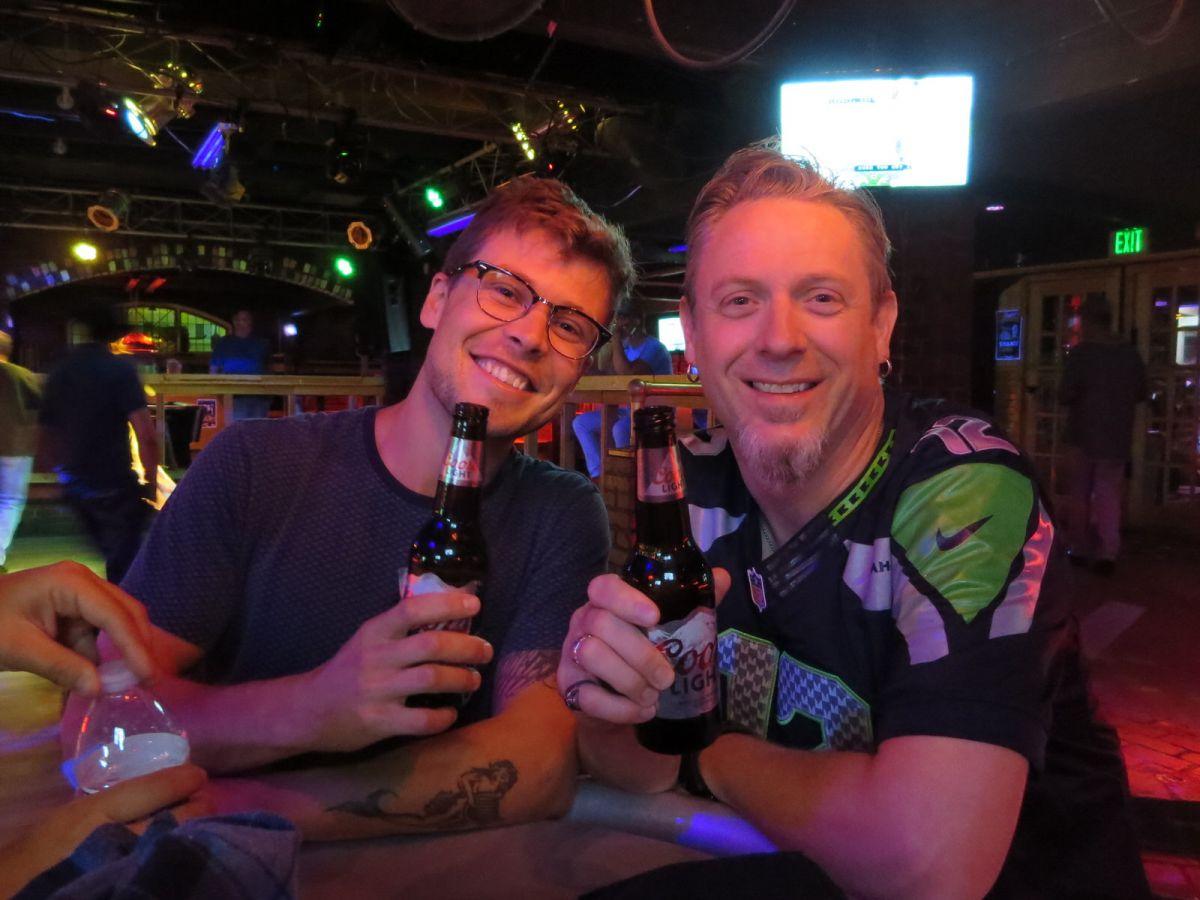 At Charlie's Cowboy Bar in Denver