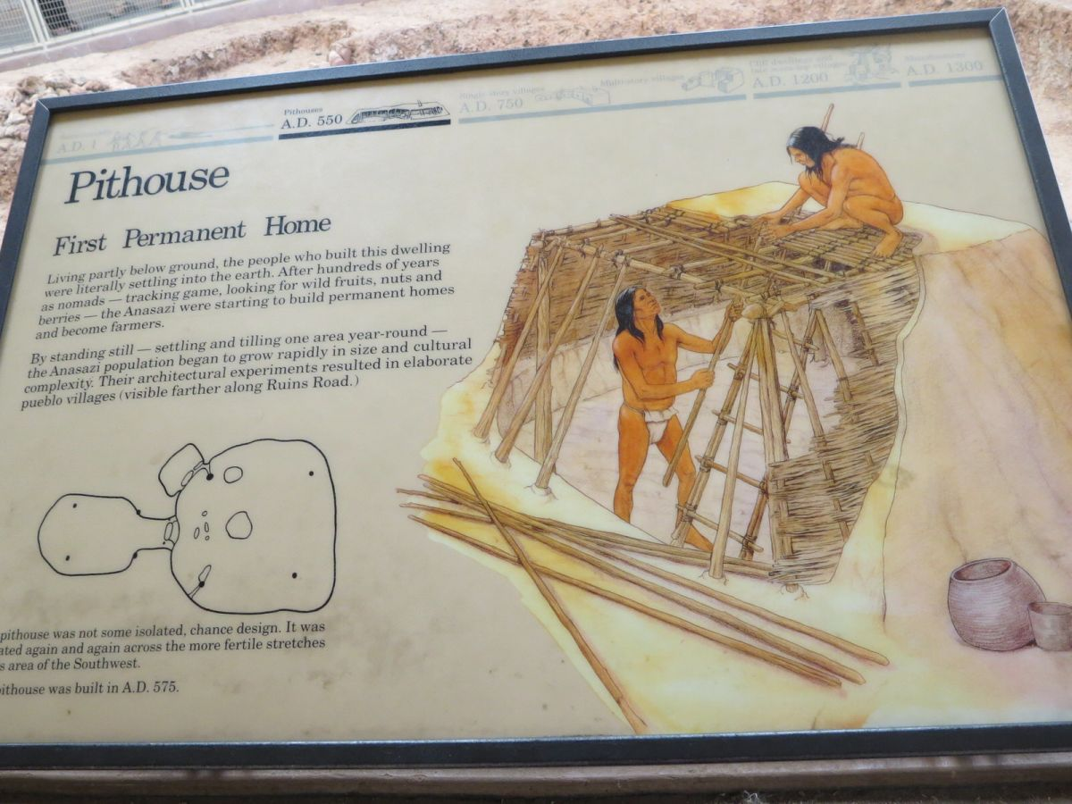 Mesa Verde National Park pit houses