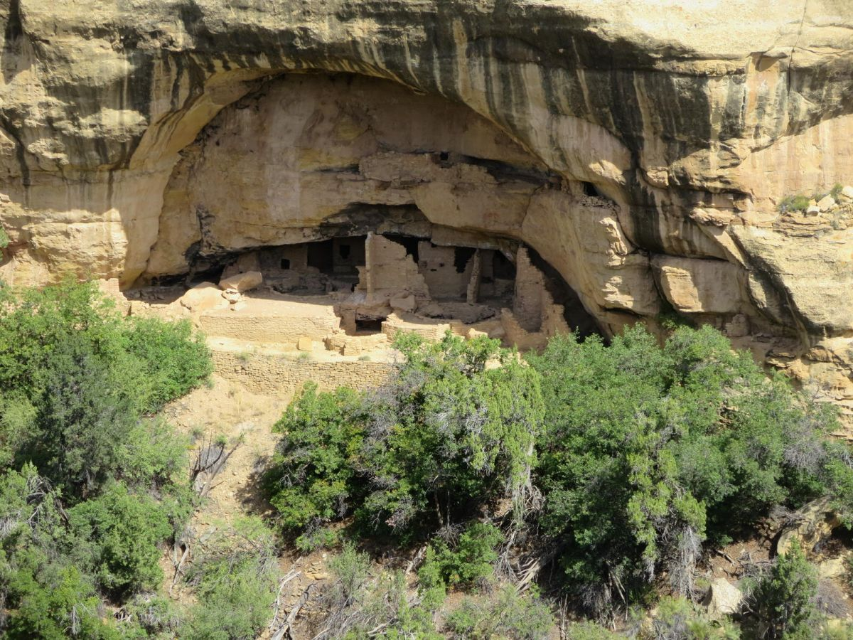 Cliff dwellings, Mesa Verde National Park, Colorado
