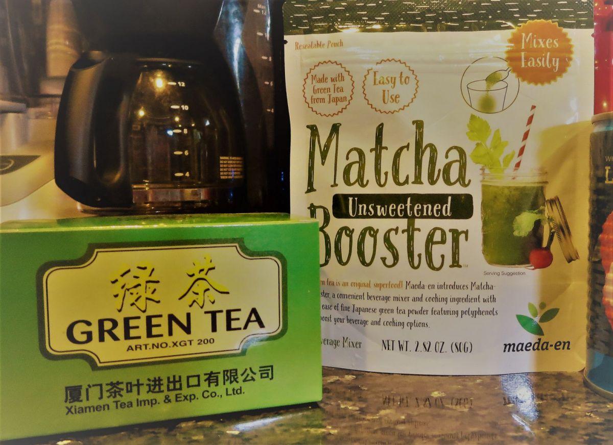 green tea homemade sugar scrub