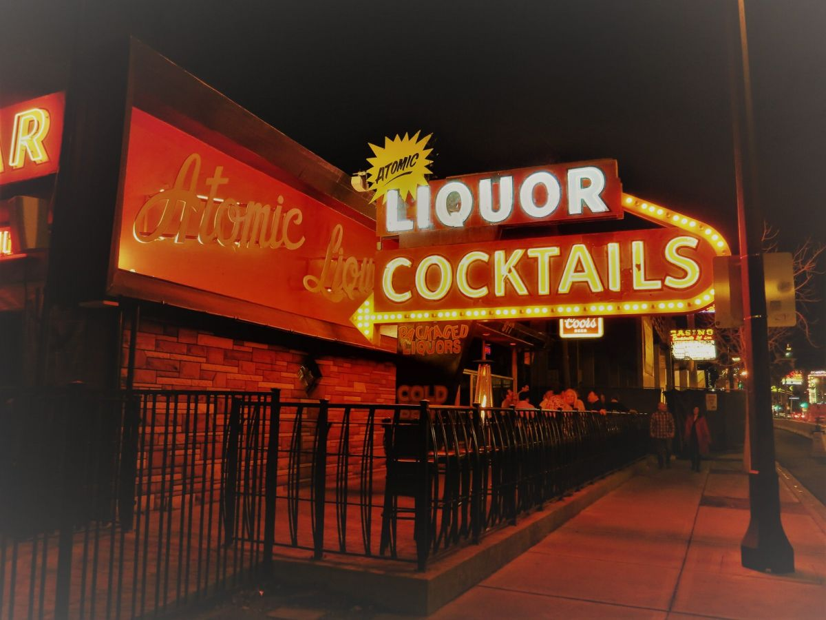 Atomic Liquors downtown Las Vegas