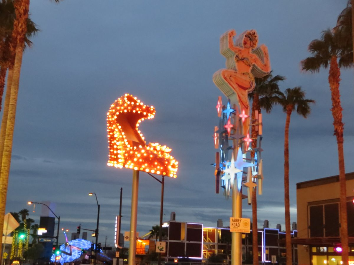 Fremont Street East, downtown Las Vegas