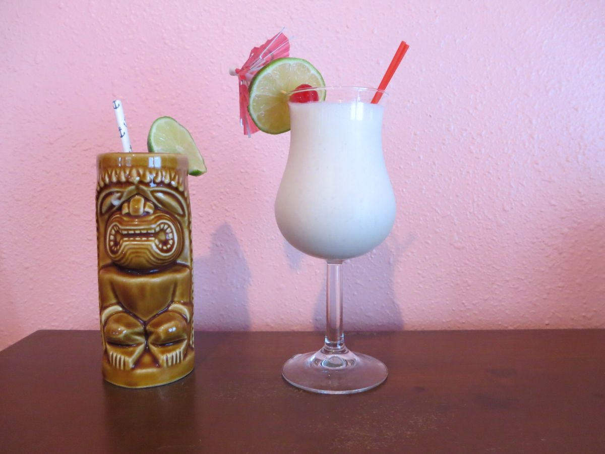 Aloha Cocktail tiki time