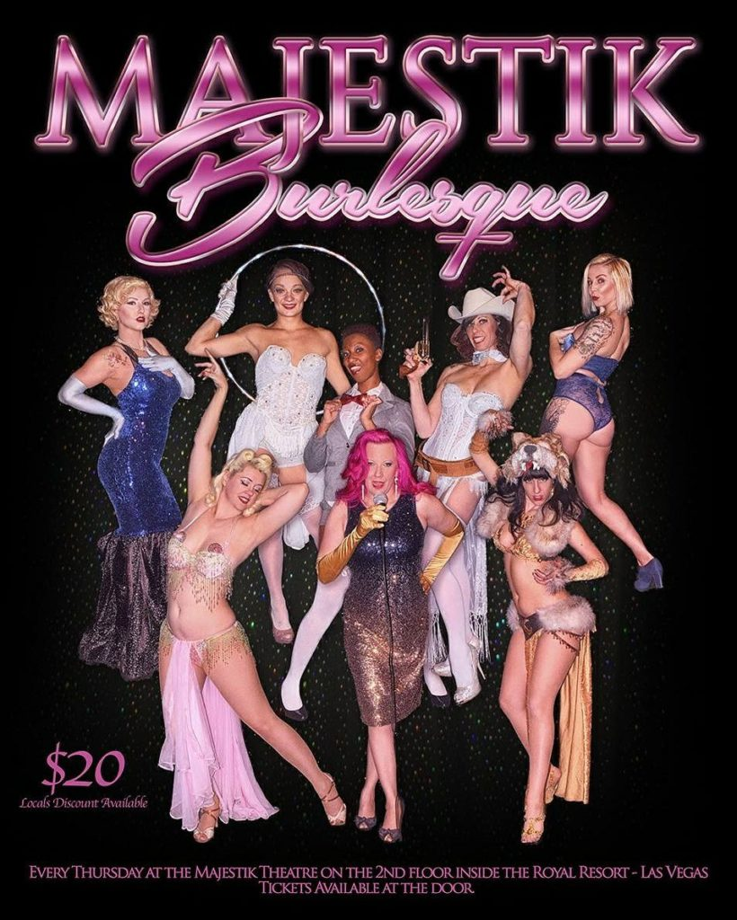 Majestik Burlesque Las Vegas