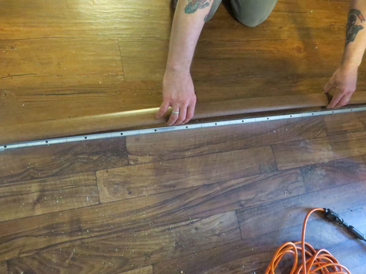 Adventures In Home Improvement Installing Vinyl Plank