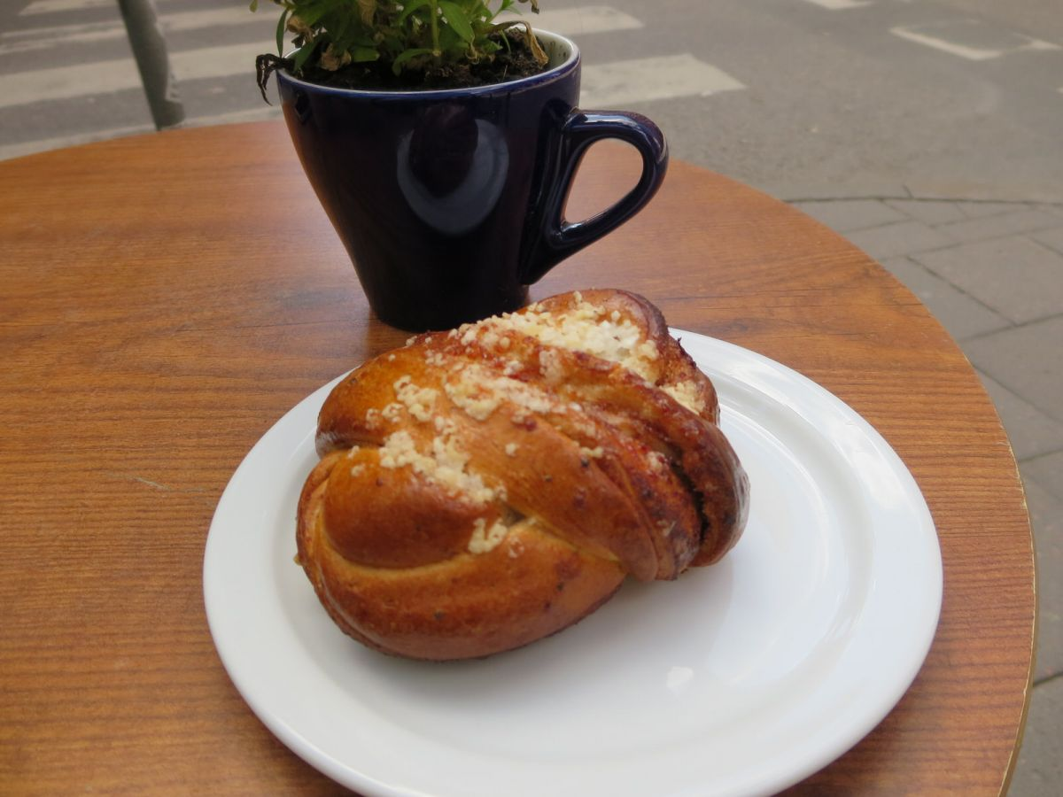 Kanelbullar--Swedish cinnamon bun.