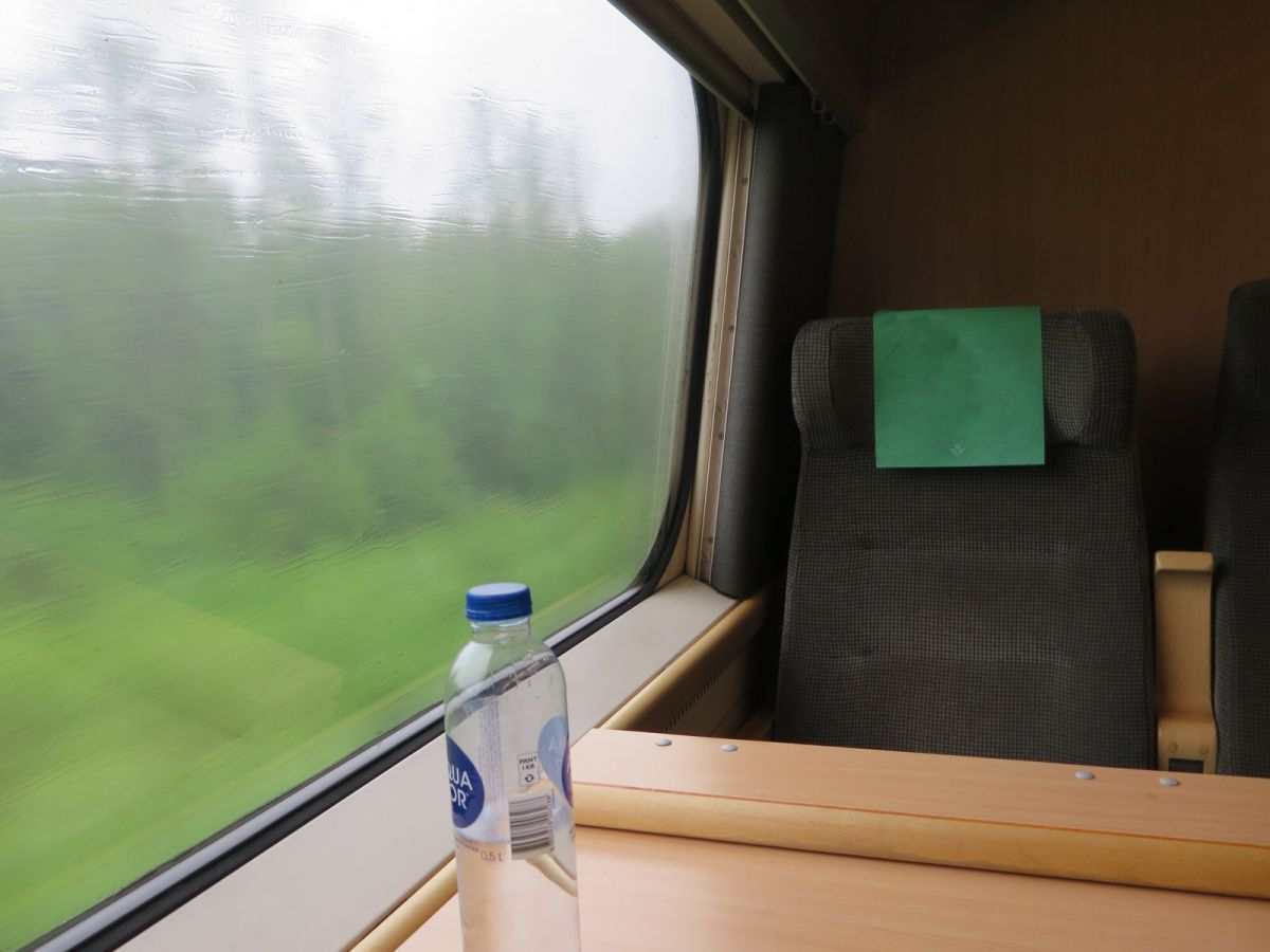 Train to Copenhagen