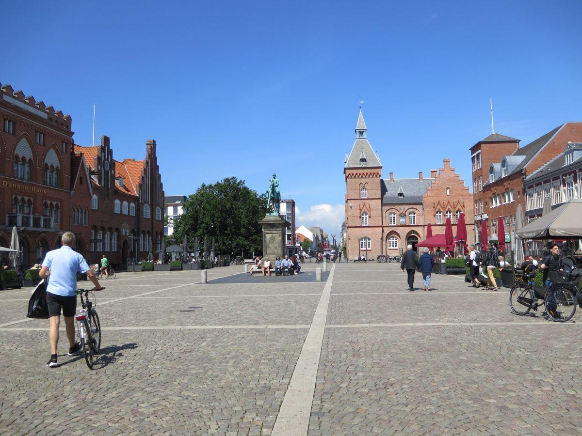 Esbjerg town square, Denmark