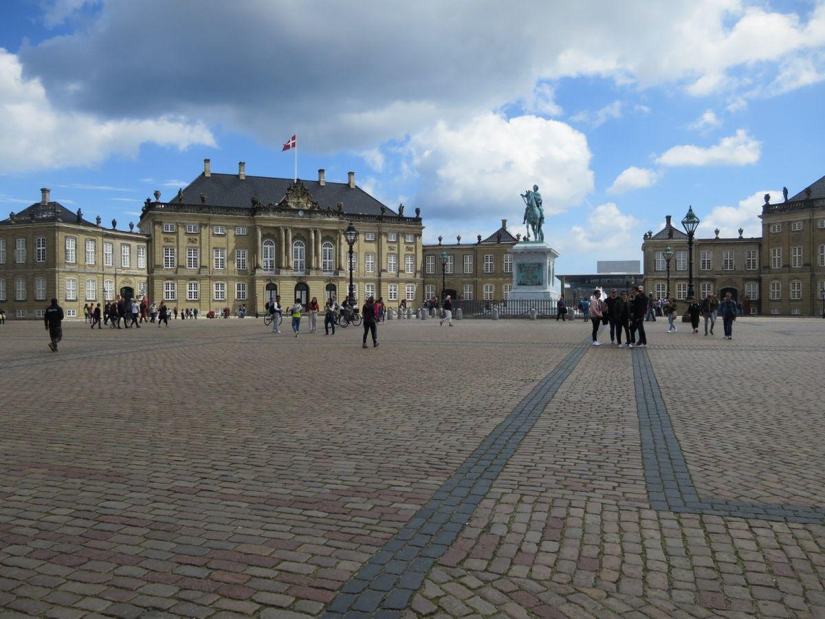 Amalienborg Palace, Copenhagen Denmark