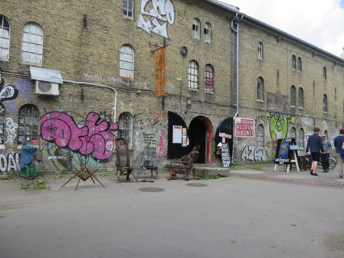 Christiania neighborhood, Copenhagen