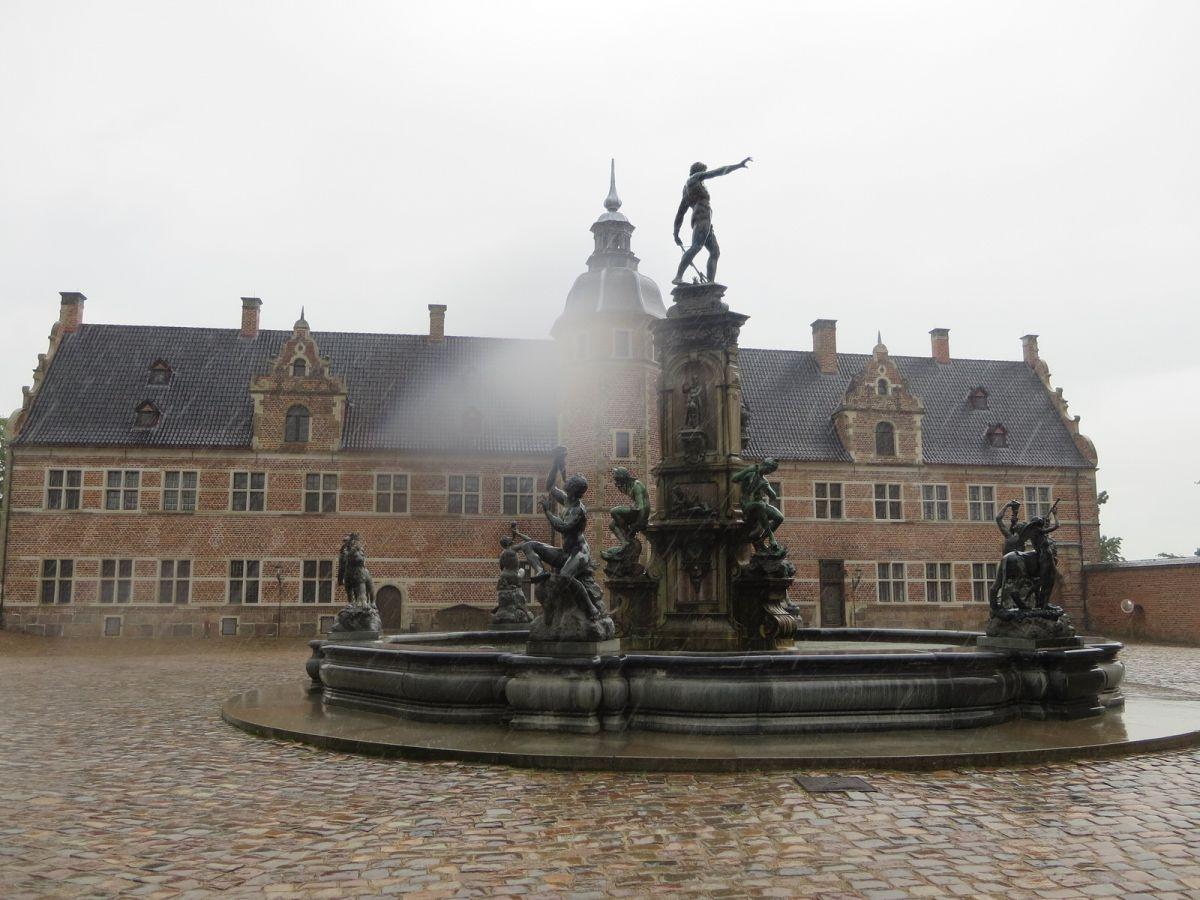 Fredericksborg Castle in Hillerød