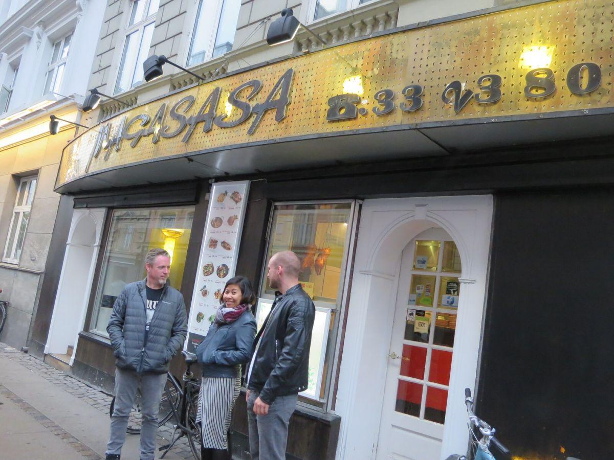 Magasasa Szechuan restaurant, Copenhagen Denmark