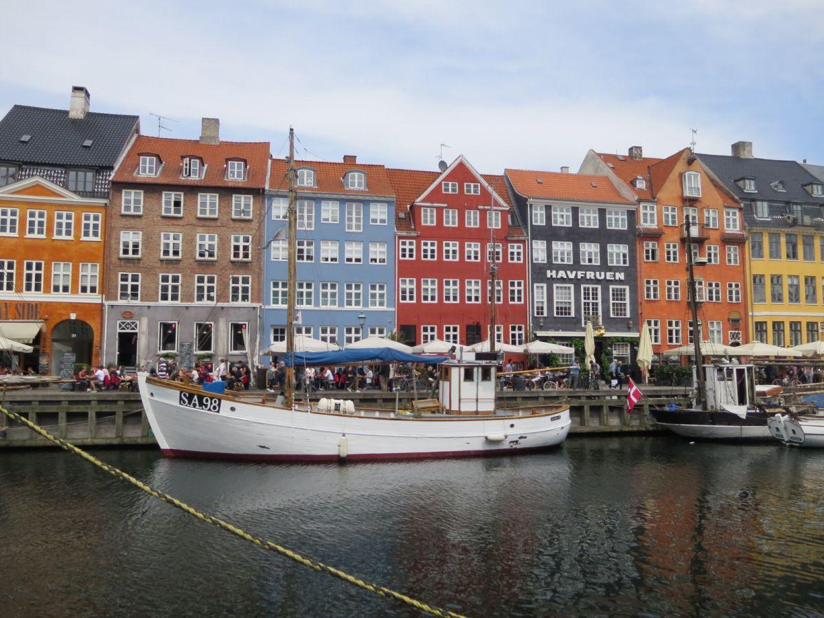 Nyhavn, Copenhagen Denmark