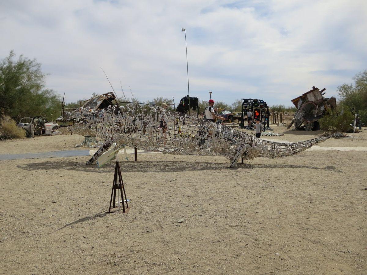 East Jesus Sculpture Park