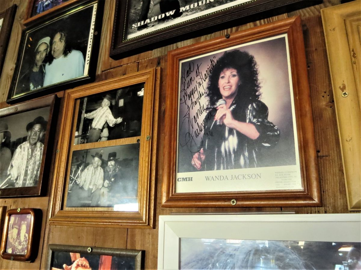 Many big name music artists have performed here, such as Wanda Jackson