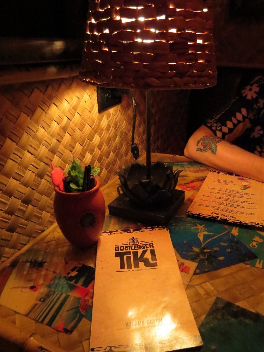Bootlegger Tiki Bar Palm Springs