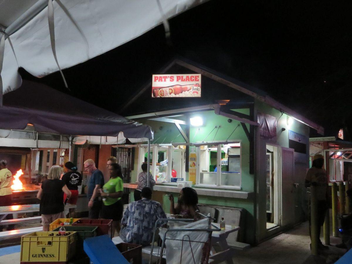 Pat's Place, Oistins Barbados