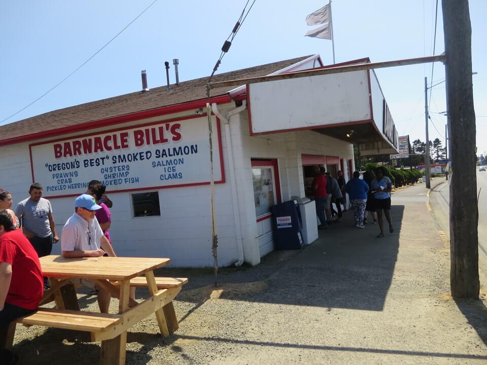Barnacle Bill's Seafood Market, Lincoln City, Oregon Coast