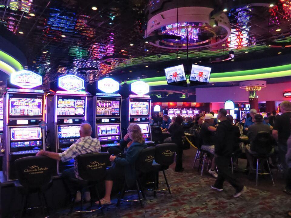 Chinook Winds Casino, Lincoln City, Oregon Coast